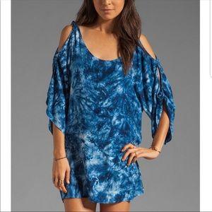 One Teaspoon Tie-Dyed Tunic Dress